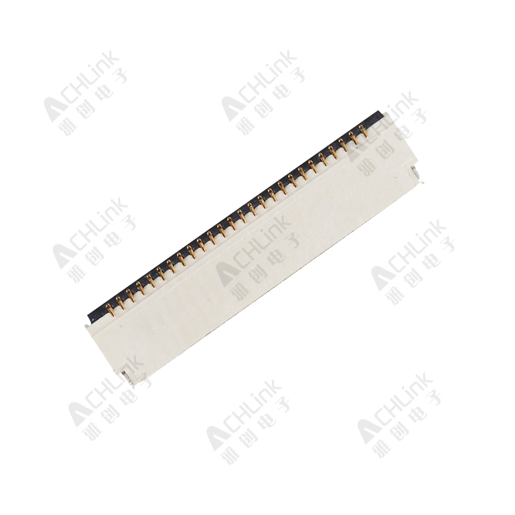 FPC PITCH0.5MM ZIF SMT R/A TYPE  H=1.0MM