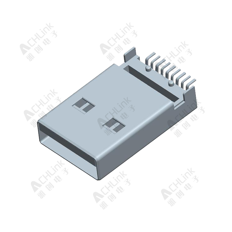 USB 3.0MM  A TYPE 9P MALE .SMT H=3.2mm